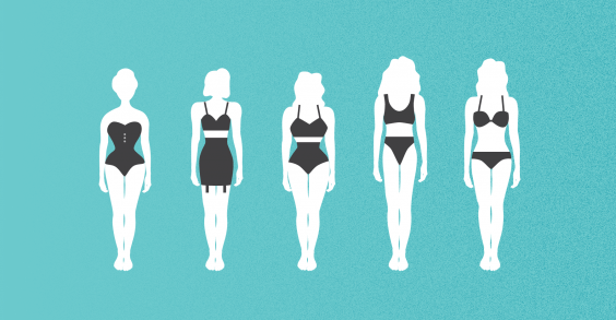 100 Years of Women's Body Image