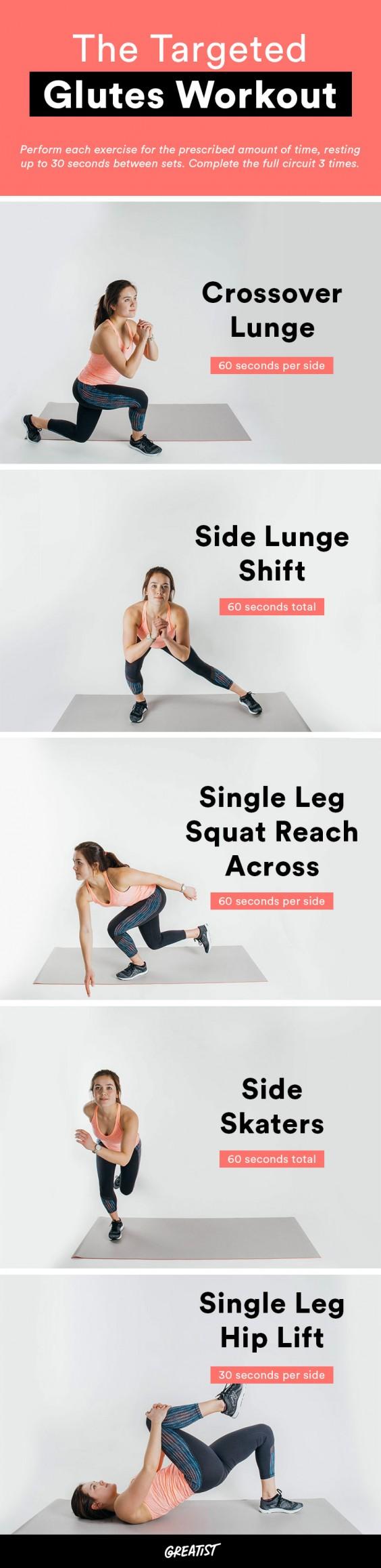 best butt exercises: workout