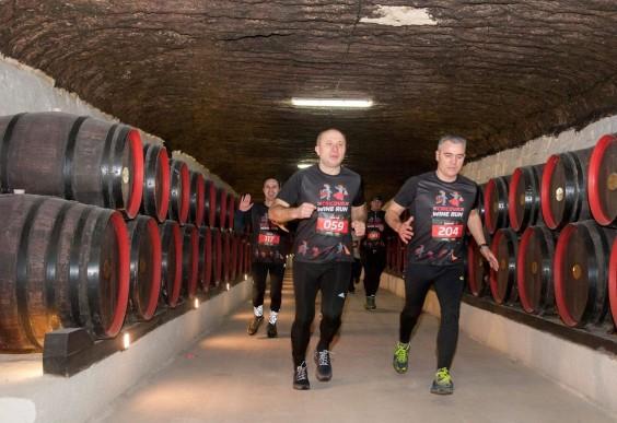 Cricova Wine Run in Chişinău, Moldova