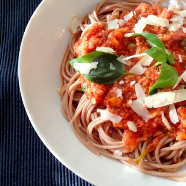 20. Crab Bolognese