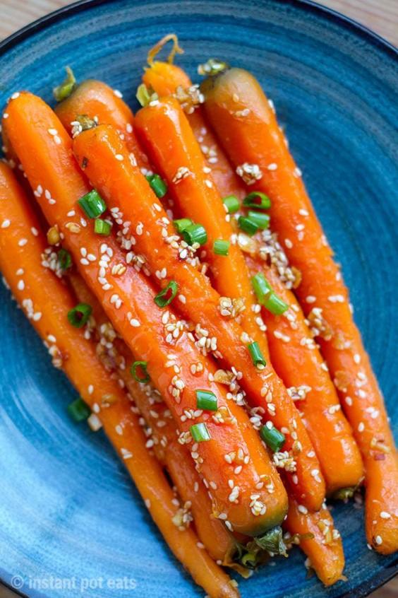Instant Pot Honey Soy Carrots Recipe
