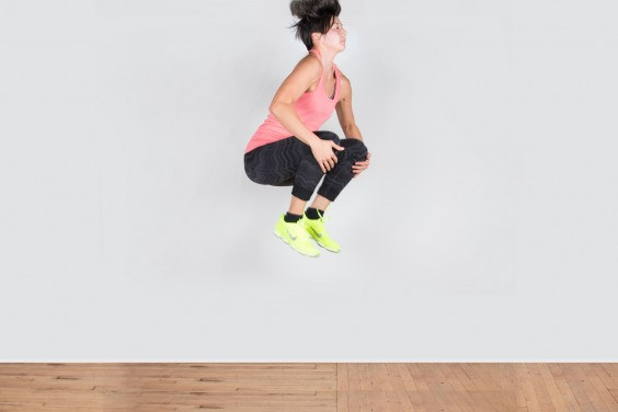 Bodyweight Exercise: Tuck Jump