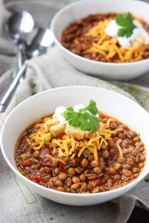 Veggie Chili: Lentil