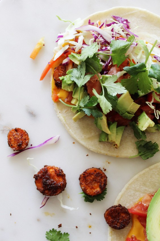 Vegan Carrot Chorizo Tacos Recipe