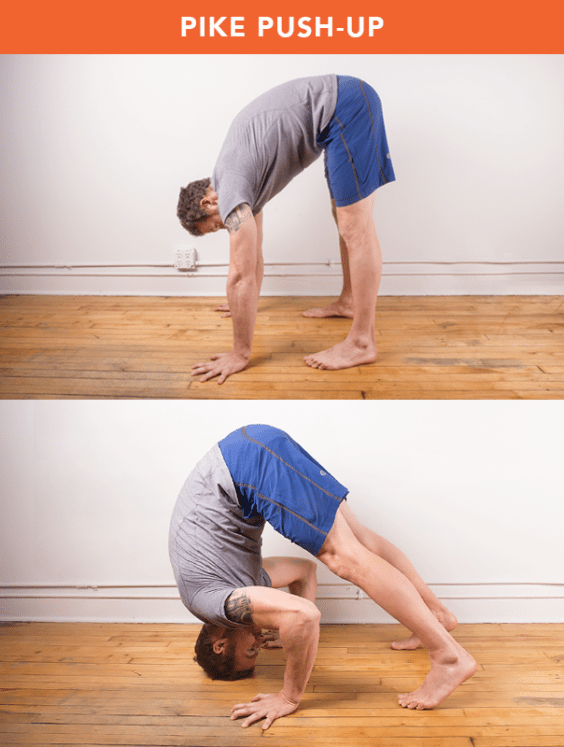 Pike Push-Up