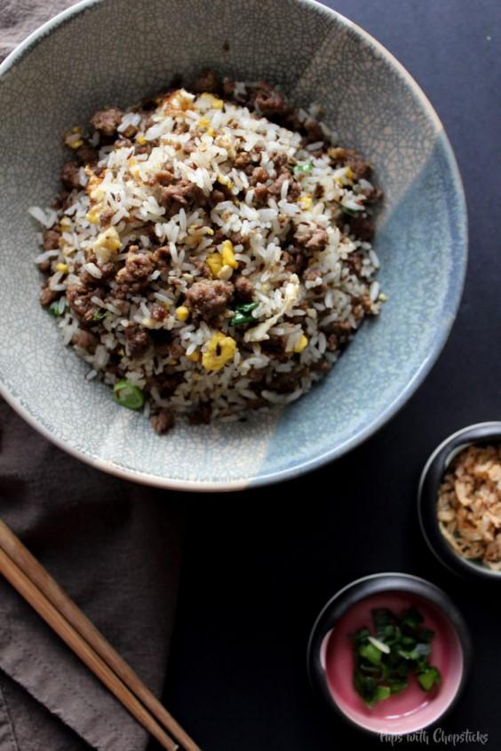 Cumin Beef Fried Rice Recipe