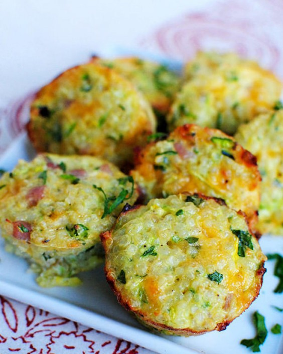 Breakfast Quinoa Bites