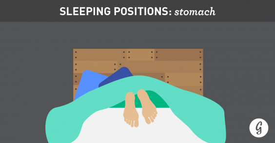 The Best (and Worst) Positions for Sleeping: Stomach Sleepers