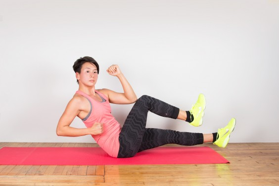 Bodyweight Exercise: Sprinter Sit-Up