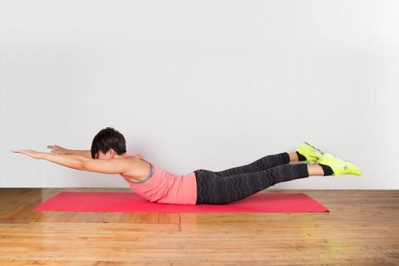 Bodyweight Exercise: Superman
