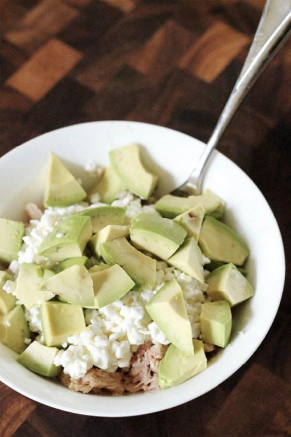 Tuna Cottage Cheese Salad