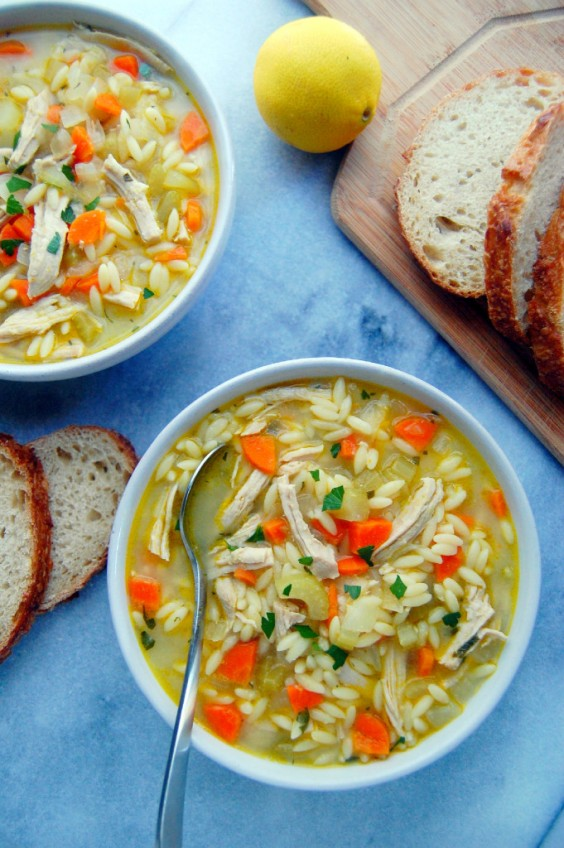 Turkey Orzo Soup Recipe