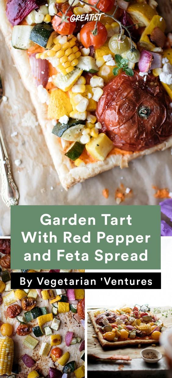 Vegetarian Ventures roundup: Garden Tart