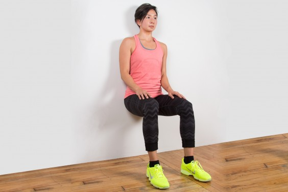 Bodyweight Exercise: Wall Sit