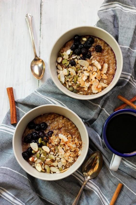 Cinnamon Crunch Instant Pot Grain Free Oatmeal Recipe