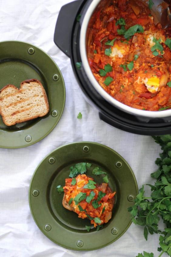 Instant Pot Eggs in Marinara Sauce Recipe