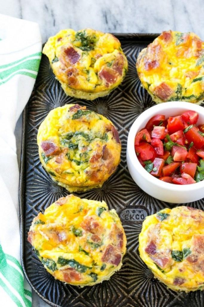 Quick Healthy Breakfasts: Breakfast Egg Muffins