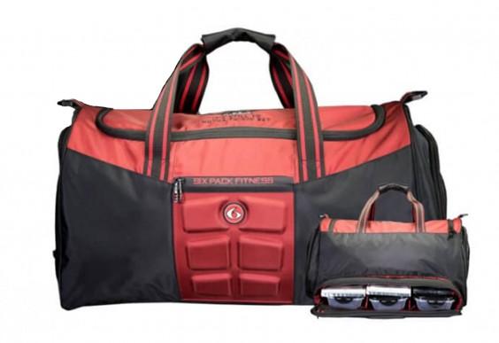 C.T. Fletcher x 6 Pack Fitness Merc Duffle Bag