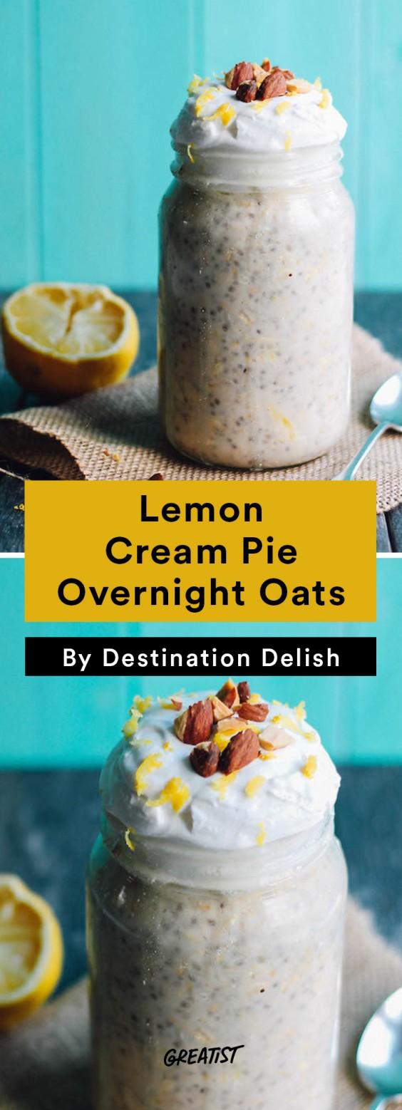 Destination Delish: lemon oats