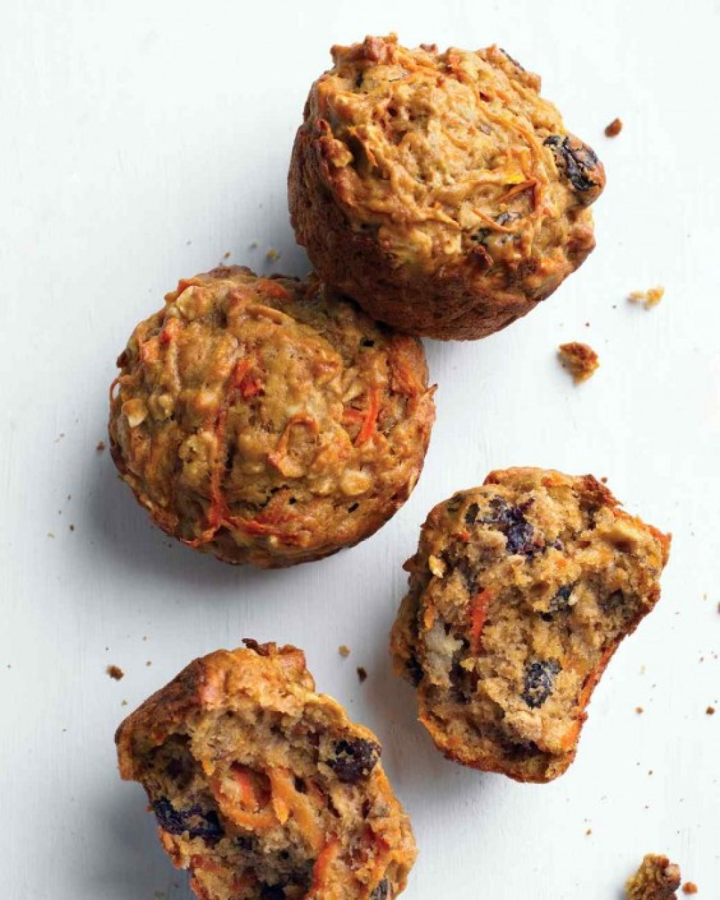 Healthy Morning Glory Muffins