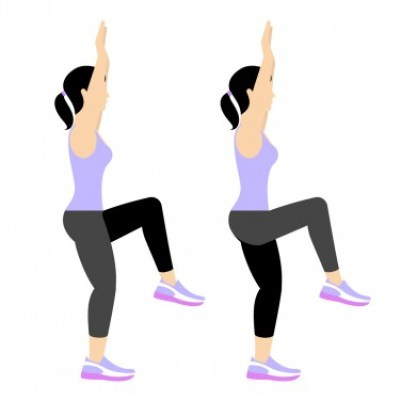 7 Min Workout: Arms Overhead