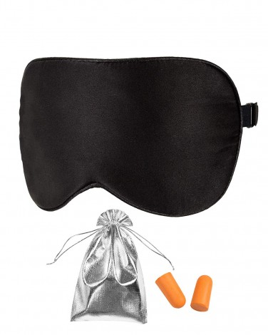 Blindfold With Two Ear Plugs