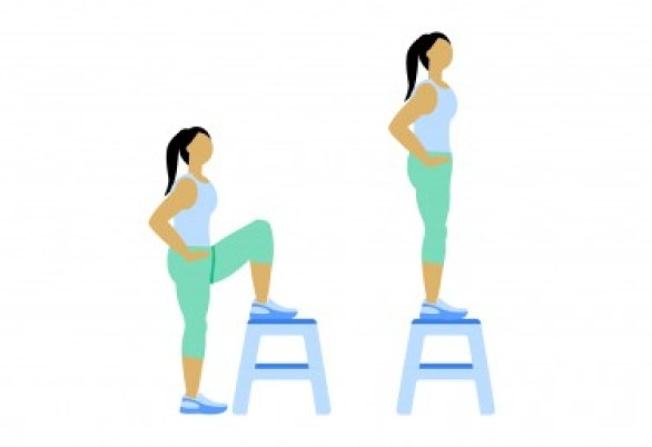 7 Minute Workout: Step-Up