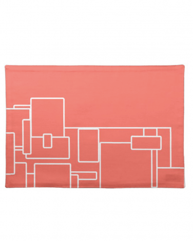 Kisasa HOME Abstract Design Cloth Placemat