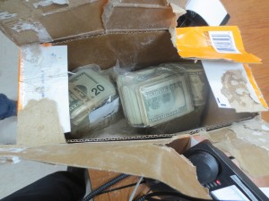 Currency Smuggler Laundering Box
