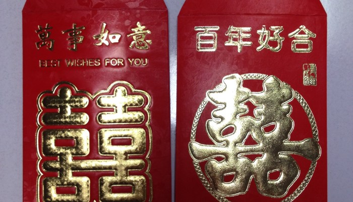 Cash from China seized in Red Envelopes
