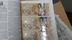 Detroit CBP returns Canadian dollars concealed within a book