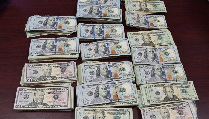 $55000 Cash Seized in Laredo