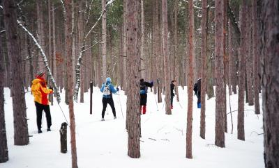XC Skiing in Ontario