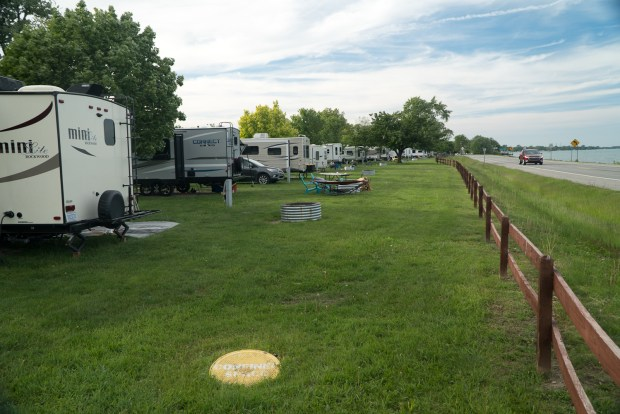 Algonac State Park campground