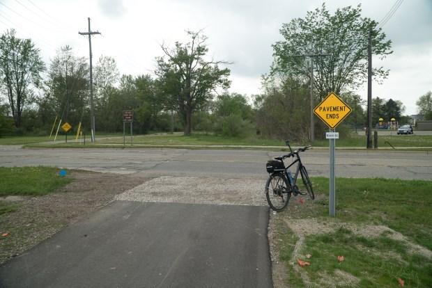 Michigan Air Line Trail Trailhead