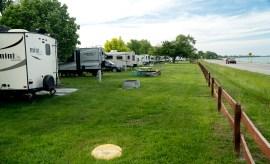 Camping in Algonac State Park