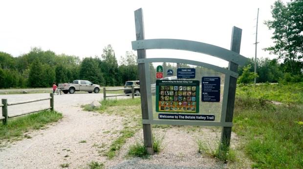 Betsie Valley Trail Trailhead