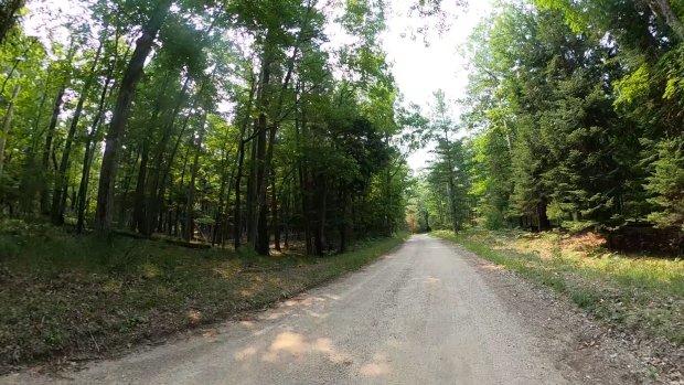 Biking the Popular Sleeping Bear Heritage Trail