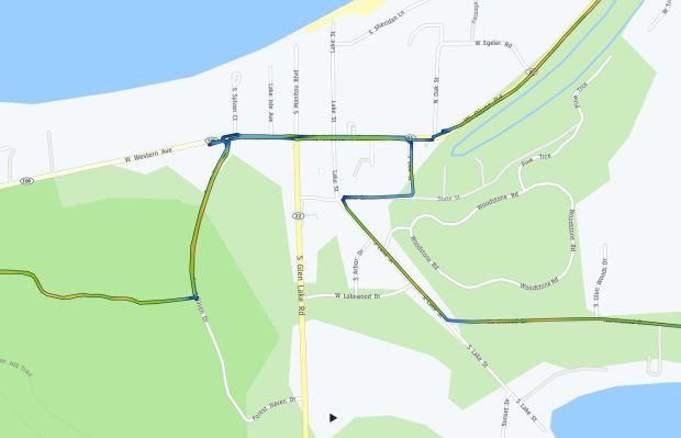 Glen Arbor routing