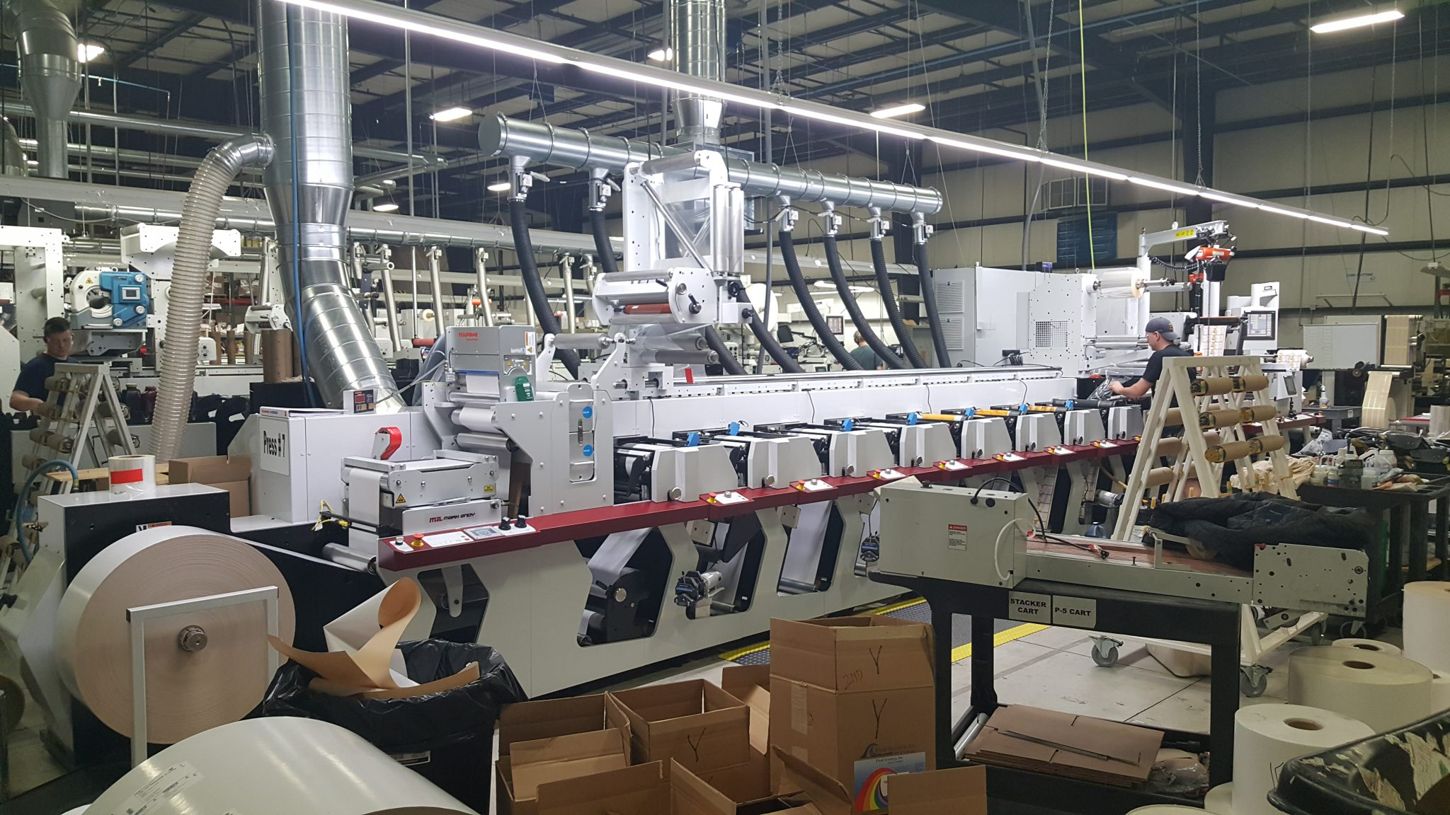 New Mark Andy P5 Flexographic Press