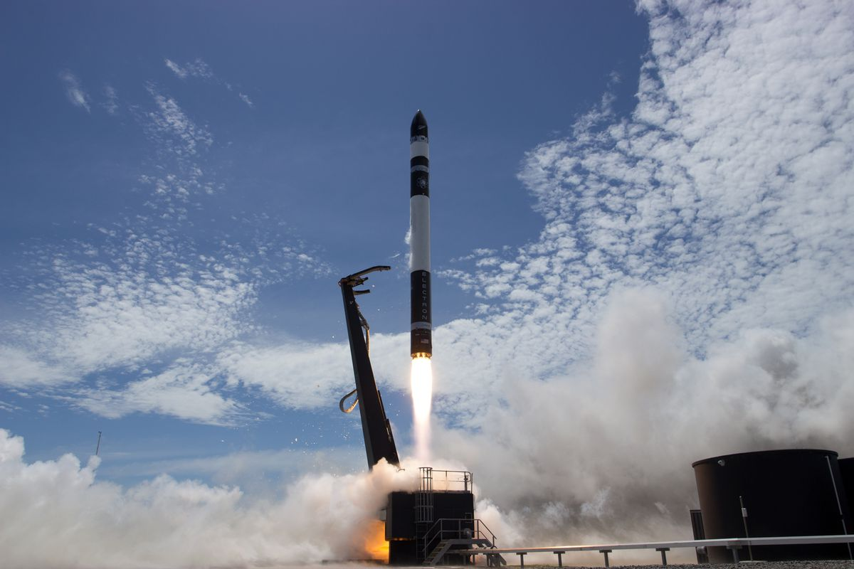 Rocket Lab Successfully Launches its First Commercial Rocket