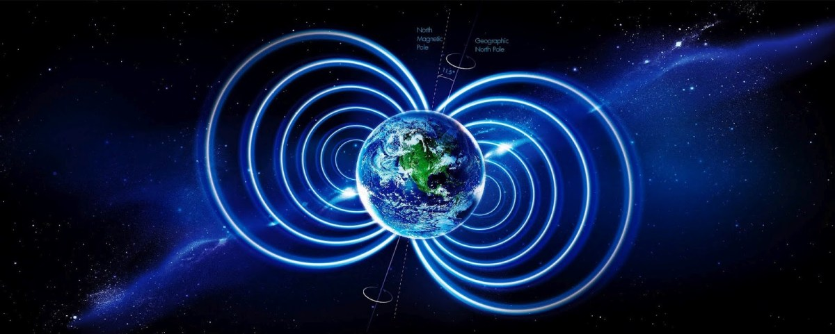 The Magnetic Pole of the Earth is Nowhere it Should