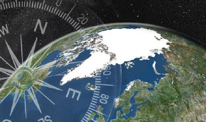 "Magnetic North Pole Is ""Recklessly"" Moving Towards Siberia With 50 Km Per Year"