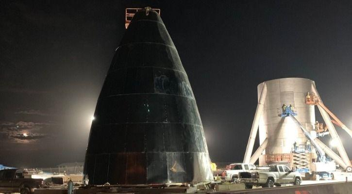 Elon Musk Shares Images Of Falcon 9 Rocket