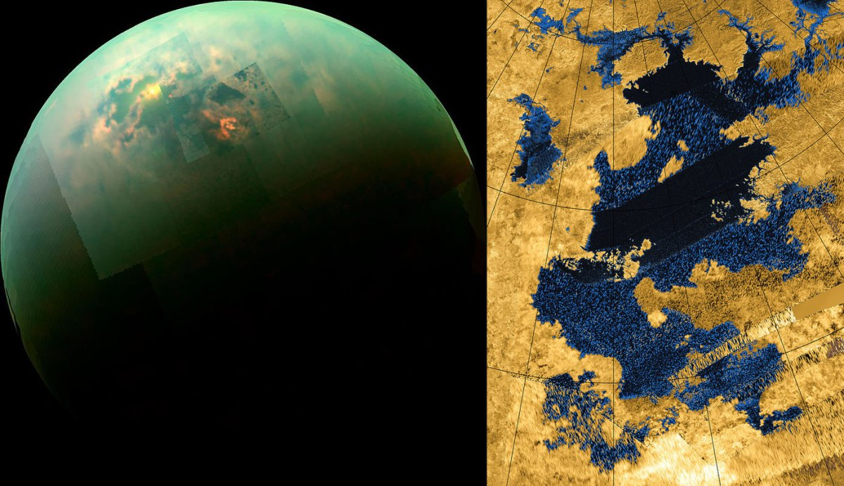 "NASA Finds Disappearing ""Phantom Lakes"" On Titan, Saturn's Largest Moon"