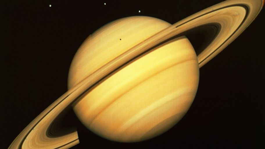 Saturn Brightest in the Night Sky Tuesday Night