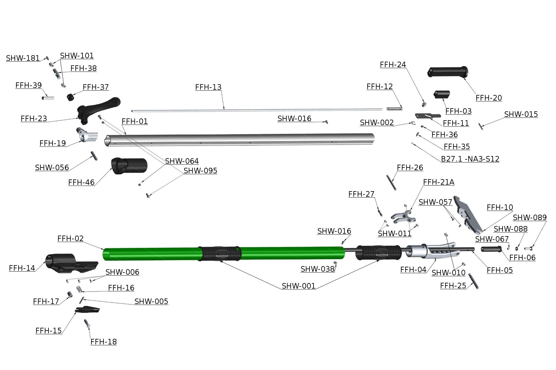 Northstar Box Handle Schematic