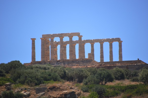 The Temple of Poseidon Photo Credit: Kathy Mizera