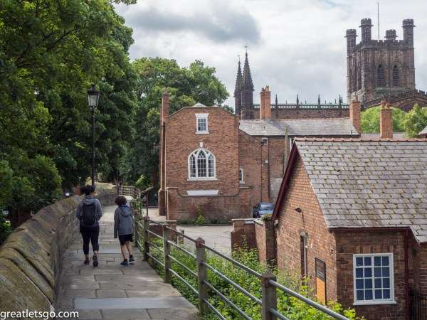 Roman Walls, Chester, England