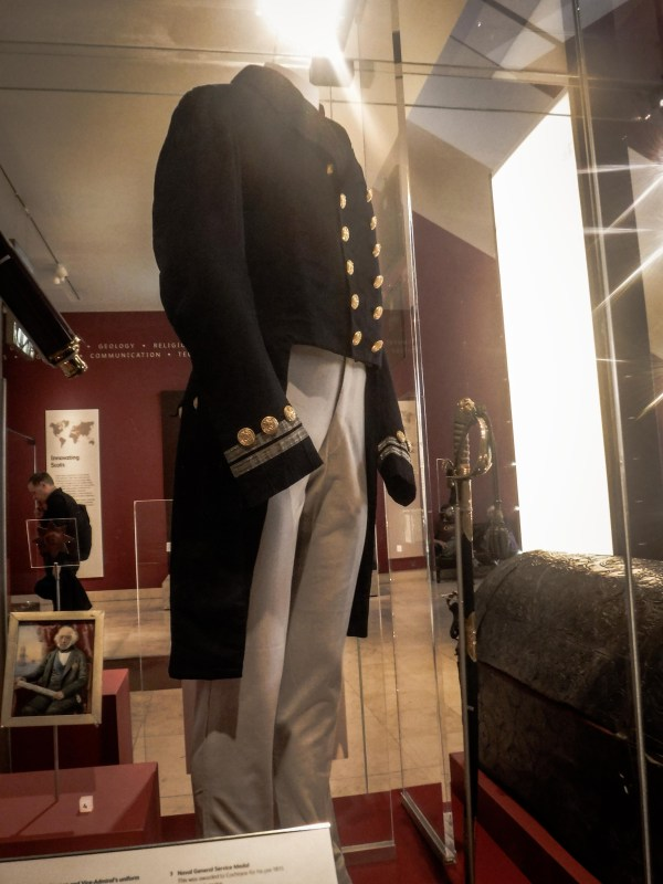 Lord Cochrane's uniform